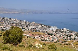 Tiberias - Tiberias in April 2012