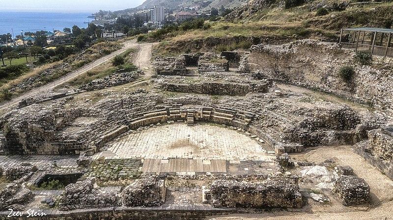התיאטרון הרומי בטבריה