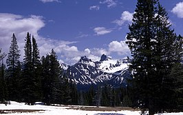 Pilot Peak en Index Peak in Shoshone National Forest