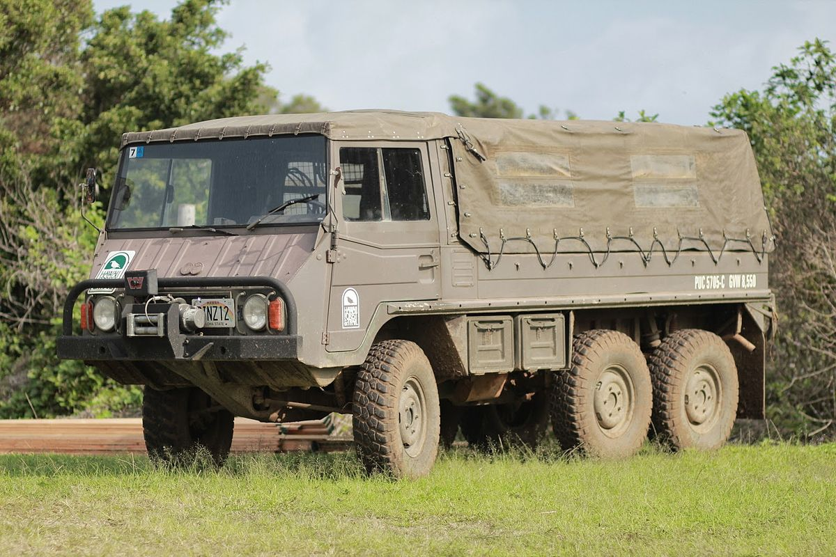 Pinzgauer HighMobility AllTerrain Vehicle  Wikipedia