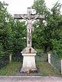 Pissos (Landes) croix de mission.JPG