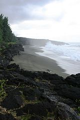 Tremblet beach, Réunion Island