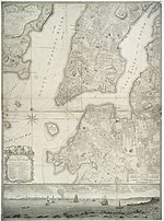 Map Of New York 1776.File Ratzer Map Of New York City Jpg Wikimedia Commons