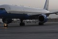Plane carrying Hillary Clinton at KIA in 2010.jpg