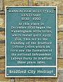Plaque at Manningham Mills (5431250963).jpg