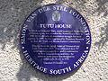 Plaque de résidence de Desmond Tutu.JPG