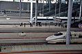 Platform and digital information board of Ningbo Railway Station platform.jpg