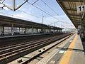 Platform of Shin-Yamaguchi Station (Sanyo Shinkansen) 2.jpg