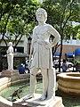 Plaza de Armas fountain - San Juan, Puerto Rico - DSC07111.JPG