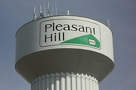 Pleasant Hill water tower.JPG