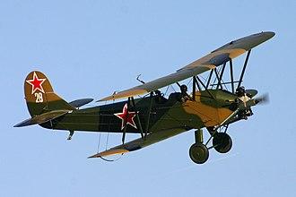 Polikarpov Po-2 - Polikarpov Po-2 replica