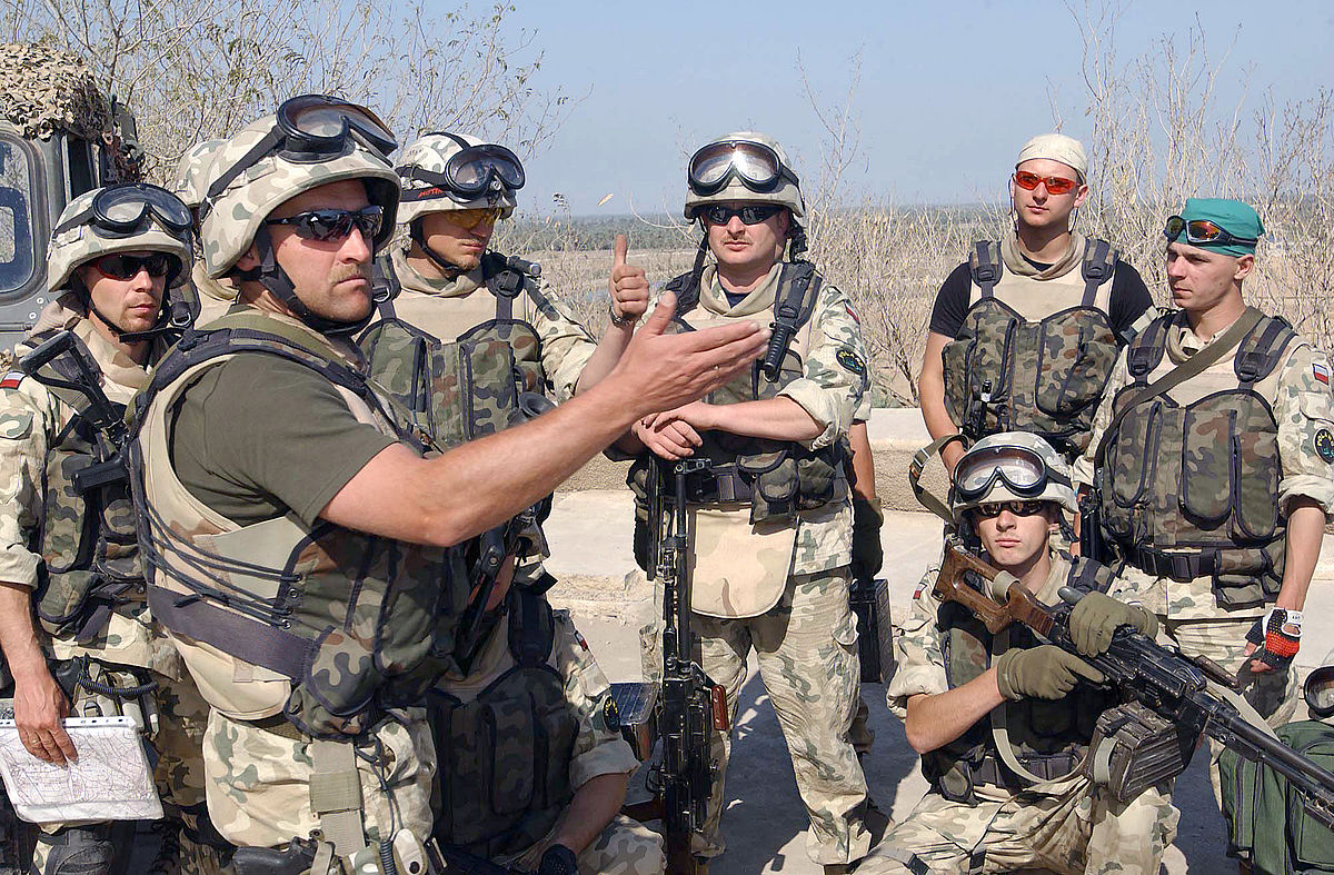 polish involvement in the 2003 invasion of iraq wikipedia