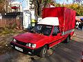 Polonez truck red - near Metro Wilanowska Poland.jpg