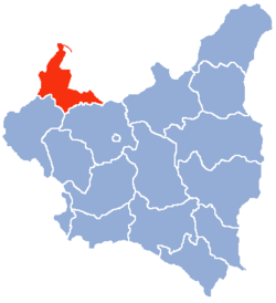Location of Pomeranian Voivodeship