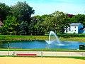 Pond with a Fountain - panoramio (1).jpg
