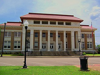 Pontotoc, Mississippi - Pontotoc County courthouse