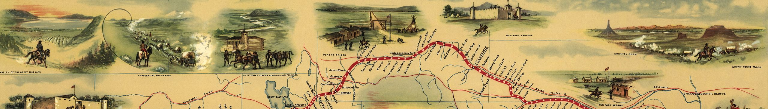Pony Express National Historic Trail Travel Guide At Wikivoyage