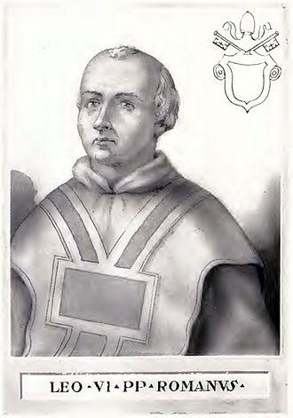Pope Leo VI - Image: Pope Leo VI Illustration