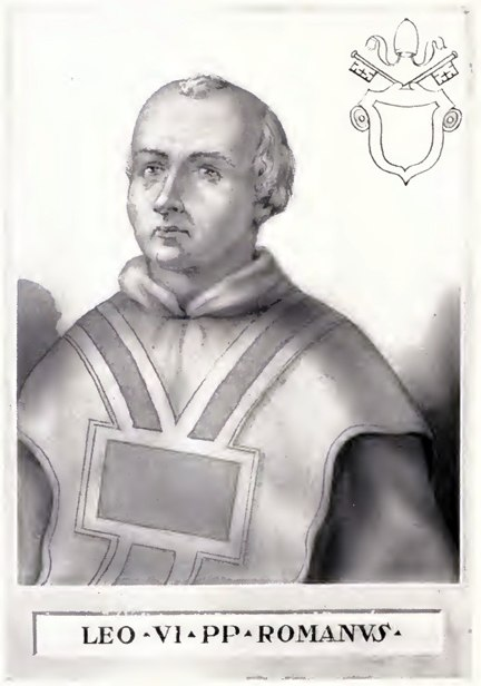 Pope Leo VI Illustration