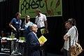 Popfest 2014 Programmpräsentation 24 Gabriela Hegedüs Andreas Mailath-Pokorny Christoph Möderndorfer Robert Rotifer Wolfgang Schlögl Wolfgang Kos.jpg