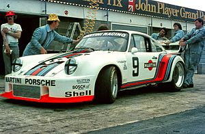 Porsche 935 - Early version of the 1976 factory Porsche 935 at the 6 Hours of Silverstone