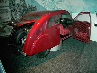 Zündapp - A reconstruction of a Porsche model type 12, Industrial Culture Museum, Nuremberg