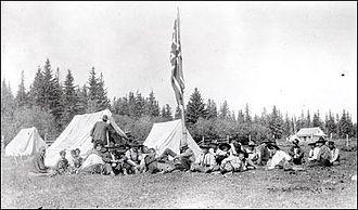 La Loche - Treaty 8 payments in West La Loche (1911)