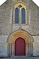 Portail ouest de l'église de la Nativité Notre-Dame de Soulangy.jpg