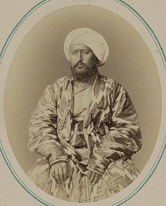 Khanate of Kokand - Seyid Muhammad Khudayar Khan, the 1860s