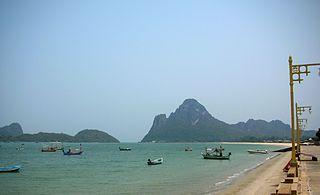 bay in Mueang Prachuap Khiri Khan, Thailand