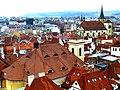 Prag - Blick vom Altstädter Rathausturm Richtung Südwesten - Pohled z věže Staré radnice v jihozápadním směru - panoramio.jpg