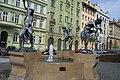 Praha, Senovážné náměstí, sochy.jpg