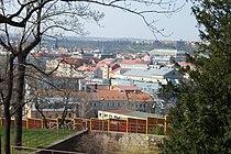 Praha, Vítkov, pohled na Karlín.JPG
