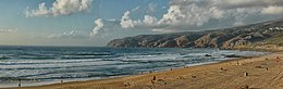 Praia do Guincho, west coast of Portugal. View to north 2014-09-19 (cropped).jpg