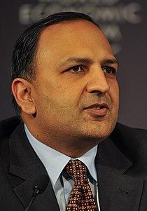 Pratap Mehta at the India Economic Summit 2009 cropped.jpg