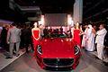 Premier Motors Unveils the Jaguar F-TYPE in Abu Dhabi, UAE (8739617481).jpg