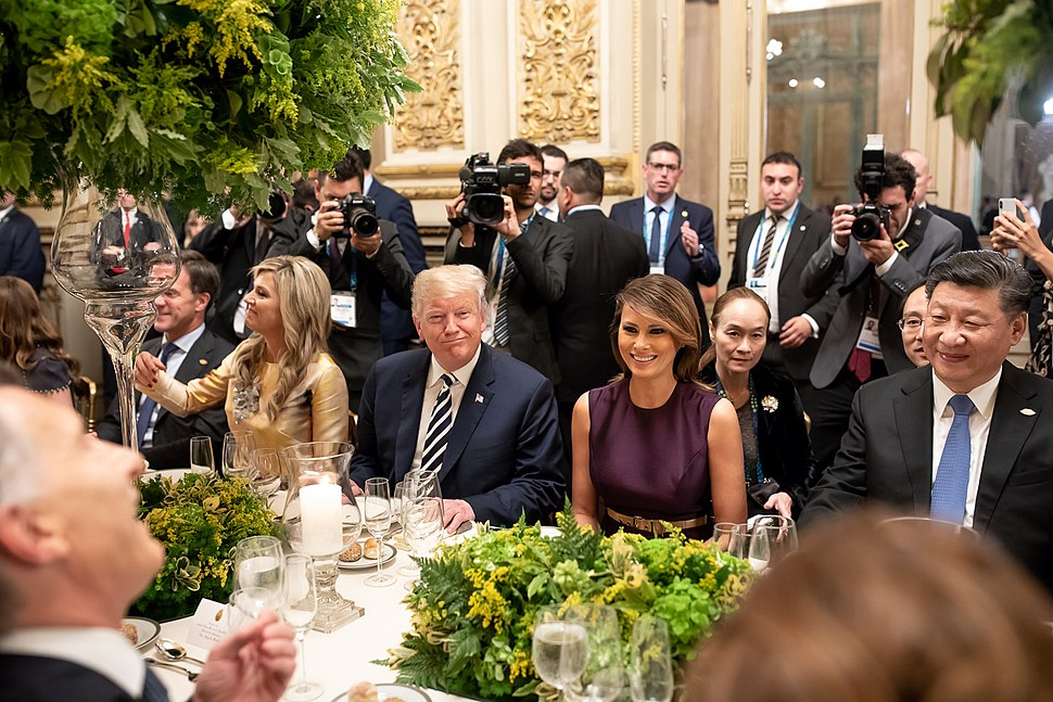 President Donald J. Trump and First Lady Melania Trump at the G20 Summit (45233172795)