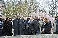 President of the Democratic Republic of the Congo Felix Tshisekedi Visits Arlington National Cemetery (33688127528).jpg