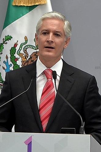 Alfredo del Mazo Maza - Image: Primer Informe de Gobierno de Alfredo del Mazo Maza 3 (cropped)