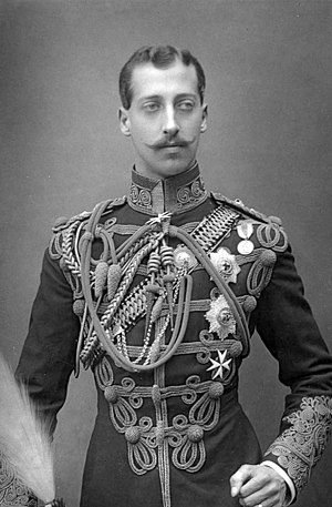 Prince Albert Victor, Duke of Clarence and Avondale - Photograph by W. & D. Downey, 1891