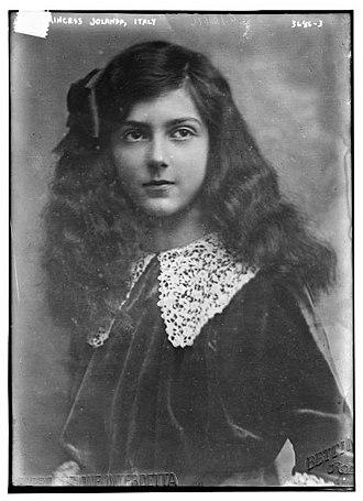 Elena of Montenegro - Image: Princess Yolanda of Italy