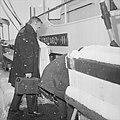 Prins Rainier van Monaco heeft zijn jacht Albacaro te Delfzijl opgehaald De pri, Bestanddeelnr 915-8665.jpg