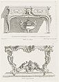 Print, Table d'appartement, 7th Plate (Design for a Table), pl. 48 in Oeuvre de Juste-Aurele Meissonnier, 1748 (CH 18707129).jpg