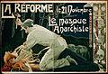 Privat-Livemont - La Réforme, le 21 Novembre, le masque anarchiste.jpg