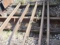 Probestrecke der Kruppschen Werkseisenbahn in Essen für 1676 (Indien) 1435 (Europa) 1067 (Kapspur) 1000 (Burma) P6020026.jpg