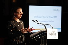 Professor Fiona Wood - 2012 Imagine Cup Announcement (5692389134).jpg