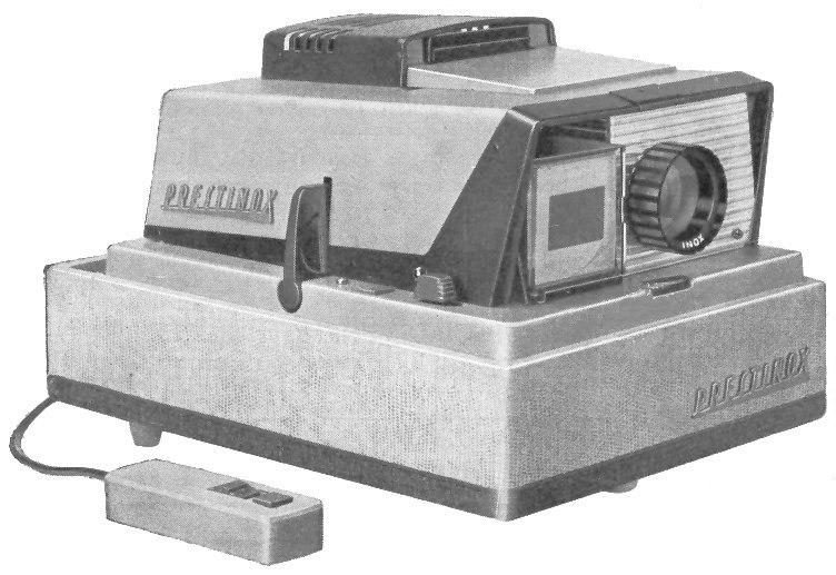 Projecteur de diapositives Prestinox début des années 1960