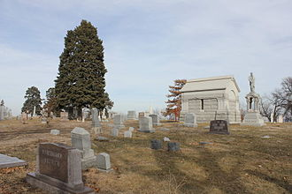 Prospect Hill Cemetery (North Omaha, Nebraska) - Image: Prospect Hill Cemetery