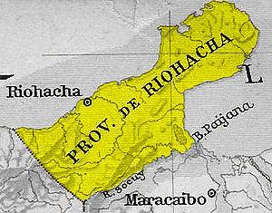 Riohacha Province - Image: Provincia Riohacha