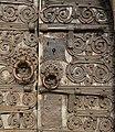 Prunet-et-Belpuig La Trinité door lock.jpg